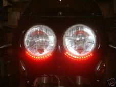 LED strip light red rear stop or brake flexible streetfighter trike